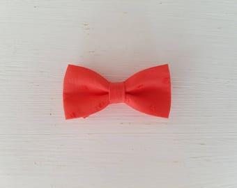 """Hair clip big bow """"plumetis"""""""