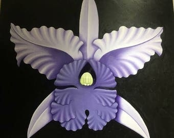 Purple Cattleya