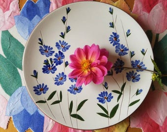 Stangl Pottery; chicory plate