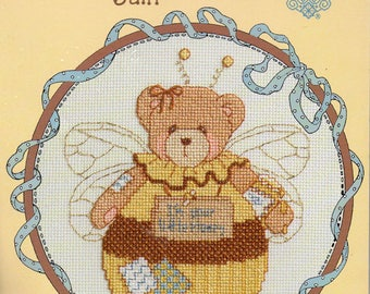 Cherished Teddies Roly Poly June Counted Cross Stitch Kit