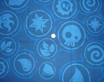 "Cotton fabric child's theme ""Branded SKYLANDERS"""