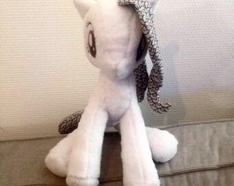 Large Plush Pony to order.