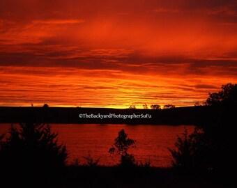 Lake Sunset #1