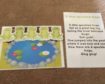 EYFS childminder song bag story sack singing time group time NQT preschool teacher nursery