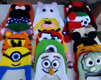 Kids Crochet Winter Hats
