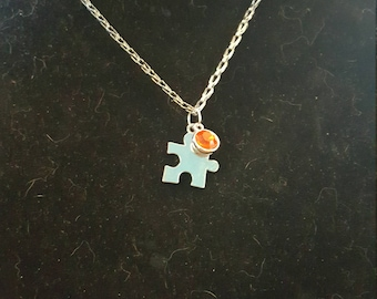 Autism Awareness Necklace