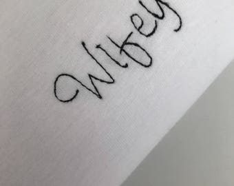 Wifey embroidered T-Shirt