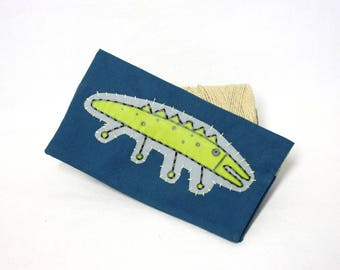 "Protects checkbook / door checkbook crocodile ""Critters"""