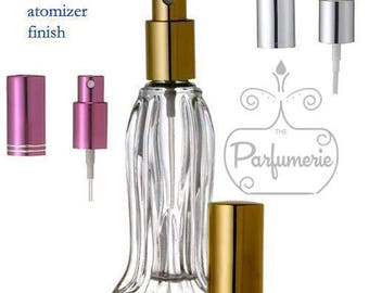 Case of 288 Bottles:0.6 oz. Tulip Style Glass SPRAY BOTTLE Fine Mist Perfume Cologne Spray Atomizer Refillable Empty