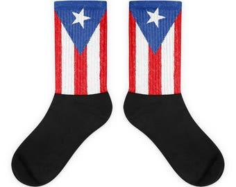 Puerto Rico on my feet Socks