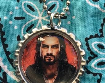 Roman Reigns Pendant Ball Chain Necklace