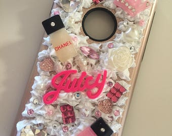 3DBling Chanel themed cell phone case