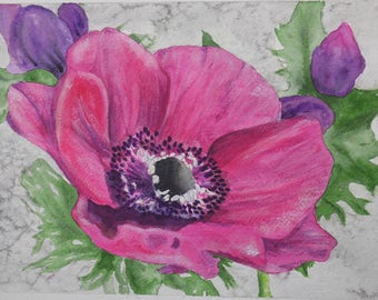 Original Flower Painting