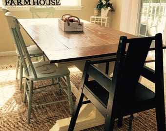 Dining room table etsy for Dining room tables etsy