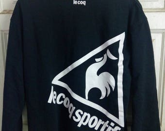 Vintage lecoq sportif big logo on back very nice design
