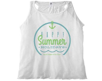 Women's Tank Top Happy Summer