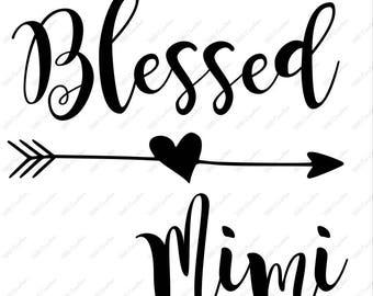 Blessed Mimi - .svg .png .eps .dfx