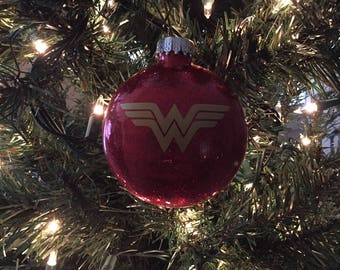 Wonder Woman Christmas Ornaments, Wonder Woman, Christmas Ornaments