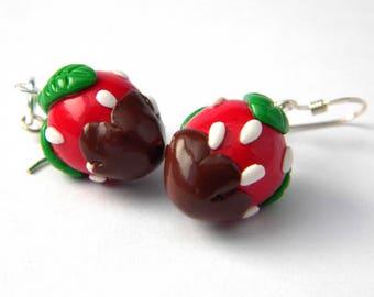 Bo handmade kawaii chocolate and strawberry