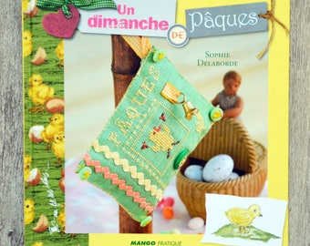 NEW - Book (embroidery sewing) Easter Sunday