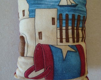 Little cushion for decoration or spade hands - the sea