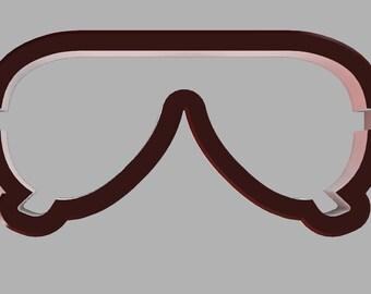 Aviator Sunglasses Cookie Cutter