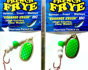 "Kokanee Spinners (2): ""GREEN HERRING"""