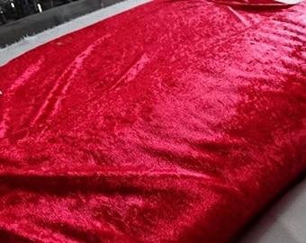 Fabric panne Velvet