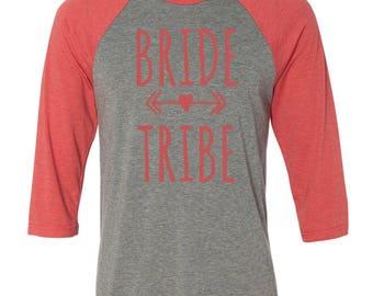 Bride Baseball Raglans, Bridesmaid Gifts, Bridal Party Shirts, Bachelorette Party Shirts, Custom Bridal Party Shirts, Wedding Shirts