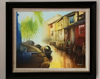 Free Shipping! Oil Painting,50/60CM, 19.7/23.6Inches.Not include outer frame