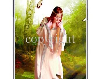 L'Elfe fond d'écran pour ipod ou ordinateur création unique sur le thème féerique.