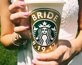 Starbucks Custom DECAL