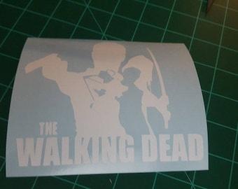 The Walking Dead logo decal