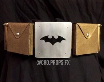 """Batman """"Hush"""" inspired utility belt."""