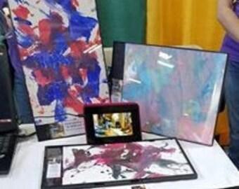 Paintings by Ponies (W/ Frame)
