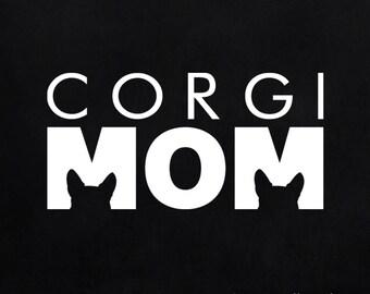 Corgi Mom decal