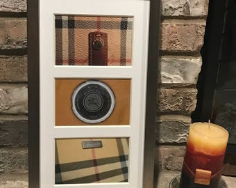 Burberry Wall Decor, Original Inspired Photography, Framed Wall Art, the PERFECT Birthday, Holiday, Housewarming Gift