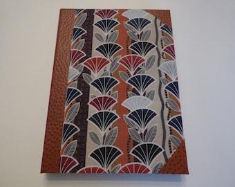 door block letter made of cardboard, fabric and skivertex