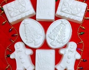 Goat's Milk Holiday Soap-No added colors or fragrance