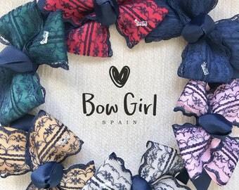 Handmade girl's tie-choose a color