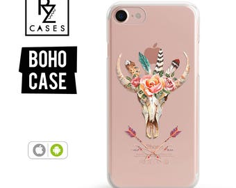iPhone 7 Case, Animal Case, Boho Case, iPhone 6 Case, Floral Case, iPhone 7 Plus Case, iPhone 6 plus, Samsung Galaxy, iPhone 7 Clear Case