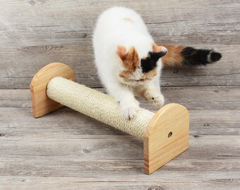 Sisal Cat Scratching Post-1 set including a complete new post and a replacement sisal