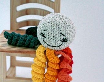 Amigurumi octopus, Octopus rainbow, preemie octopus, Crochet Octopus, Octopus Toy, Stuffed octopus, Octopus Plush, Octopus , toy newborn