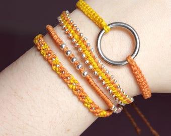 Peach Fancy Combo Bracelets