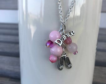 Necklace for Girls, Tap Dance Necklace, Necklace Girls, Charm Necklace for Girls, Tap Dance Charm, Gift for Girls, Christmas Gift, Gift