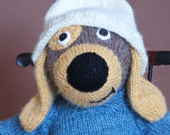 Knitted Puppy