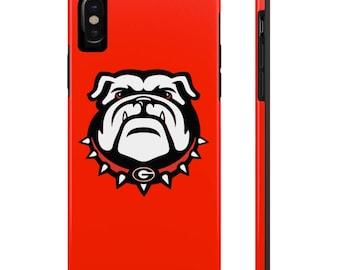 University of Georgia Bulldogs iPhone Case, Case for iPhone x, Georgia Bulldog Case for Apple Iphone 6 7 8 iphone 6 7 8 plus iphone x 10