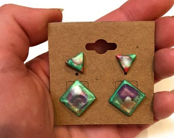 Resin Earring Gift Set