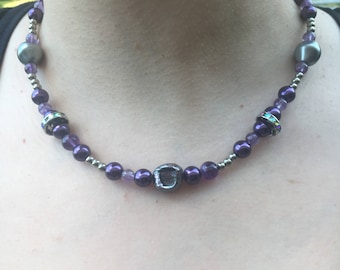 Purple, grey and sparkle, oh my!