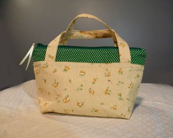 Yellow and Green Child's Purse